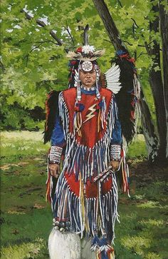 Fancy dancer, Cherokee  by  Cathy Cooksey  kp