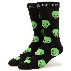 7a7a68ab0fd RIPNDIP We Out Here Green Tie Dye Socks
