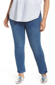 4a27f0422df Plus Size Women s Lyssé High Rise Boyfriend Denim Leggings