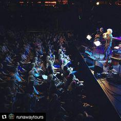 #Repost @runawaytours with @repostapp ・・・ Our private show with Jon Bon Jovi last night in Dublin, Ireland #jbjrocksdublin