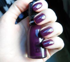 My NOTD - Isabelle Dupont Nail Lacquer in Ripe Plum #nails #dark nails #nail polish #lacquer