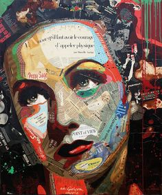 "Artist : Arnaud Bauville ""PENSÉES MALADROITES"" 100 x 120 cm (39,4 inches x 47,2 inches )"