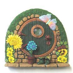 Hobbit-style Fairy Door | Flickr - Photo Sharing!