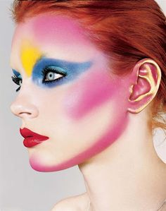 Photography: Richard Burbridge Make-up: Pat McGrath Model: Jessica Stam i-D September 2004