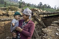 Mother celebrates sons first birthday a year on from Nepal earthquake