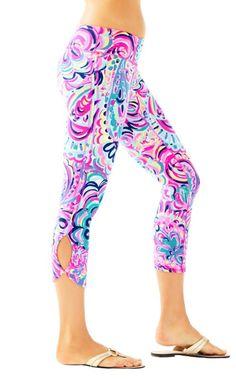 2098b07ece667 GOODBYE boring black leggings. HELLO happy, vibrant printed leggings. These  cropped leggings are