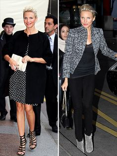 cameron diaz - cute looks at paris haute couture fashion week via people