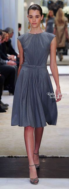 Love this dress. Ralph Lauren Pre Fall 2014
