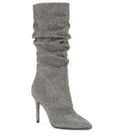 66bc95e7a Jessica Simpson Layzer Rhinestone Slouch Boots
