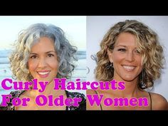 Curly Hairstyles for Older Women Over 40 to 60 Years - Short Medium Long Hair - Long Hair Growth Tips Curly Hair Styles Easy, Hot Hair Styles, Curly Hair Cuts, Long Hair Cuts, Medium Hair Styles, Thin Hair, Short Hairstyles Over 50, Classy Hairstyles, Short Hairstyles For Women