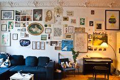 La casa de un artista: | Decorar tu casa es facilisimo.com