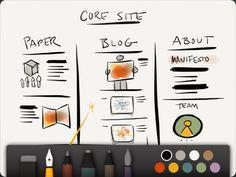 Paper, A Sketchbook App for iPad