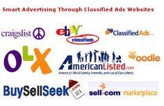 Smart Advertising Through Classified Ads Websites http://buysellseek.blogspot.com/2013/05/smart-advertising-through-classified.html