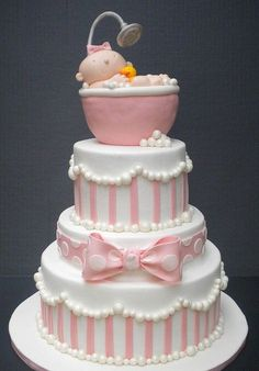 cutest baby shower cake ever!