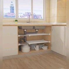 Kitchen Cupboard Designs, Kitchen Room Design, Diy Kitchen Storage, Home Room Design, Modern Kitchen Design, Home Decor Kitchen, Interior Design Kitchen, Home Kitchens, Kitchen Ideas For Small Spaces