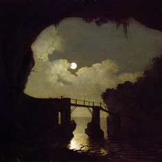 I would title this - 'Gothic moonlight and shadow' - 'not sure of its actual…
