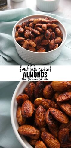 These almonds are SO flavorful and the perfect snack for when I'm on-the-go!
