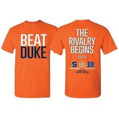 SU Orange Syracuse Orangemen Basketball Beat Duke T-Shirt