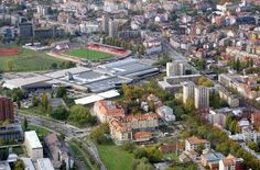 SPENS - Sports and business centre.