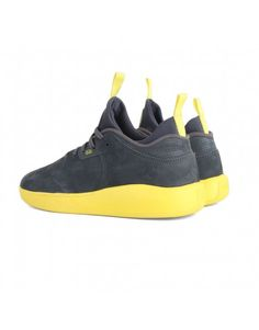 Tênis Hocks 4miga Pro Runner Carbon Grey/Yellow