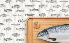 Море&More - Fish Market on Behance Wacom Intuos, Digital Pattern, Vintage Patterns, Behance, Branding, Fish, Marketing, Projects, Design