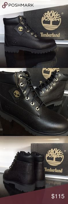 Timberland Special Edition Football Leather Brand new Timberland with original box. These are Big Kids. Women's can add 1.5 to convert sizes to Ladies. Timberland Shoes Boots