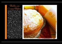 Muffin con Crema al Melone ... Bomapi  di Gabriella Lomazzi