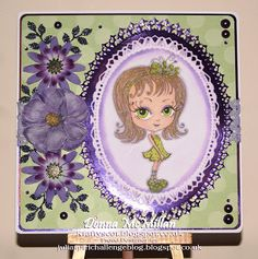 Kraftyscot - Handmade Crafts: 'Little May' - Freebie From Julia Spiri