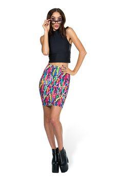 XS Pencil Pencil Skirt (Toastie material) PC