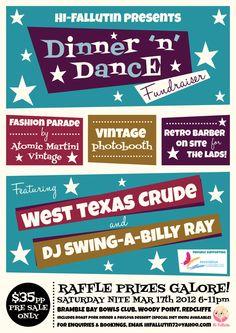 hi fallutins fundraiser dinner dance official poster by pixel
