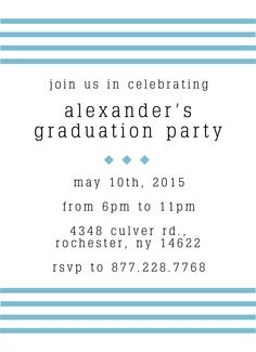 Available in multiple colors including #marsala, light blue, and more! | Invite family and friends to your #graduation party! | Graduation #Party #Invitation Announcement | Customizable with your own images & details | CatPrint Design #381