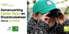 Samenwerking Center Parcs en Staatsbosbeheer laat kinderen spelenderwijs kennismaken met de natuur