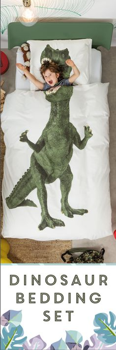 $119 - Decorate a fun and creative kids' room with dinosaur-themed bedroom ideas. Perfect for boys and girls.