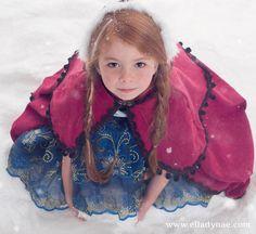 Frozen Custom Anna Princess Costume por EllaDynae en Etsy