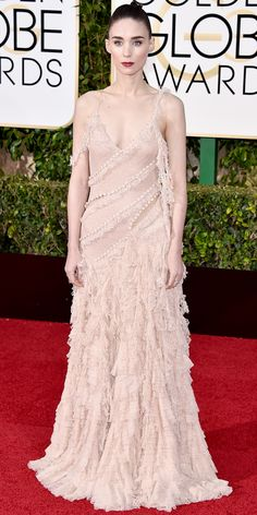 2016 Golden Globes Red Carpet Arrivals - Rooney Mara  - from InStyle.com