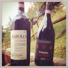 Summer tasting in the #Alps #Nebbiolo #Valtellina #ARPEPE #RocceRosse