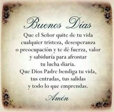 Un abracito de corazón. Morning Love Quotes, Morning Thoughts, Morning Images, Faith Quotes, Bible Quotes, Words Quotes, Sayings, Bible Verses, Spanish Prayers