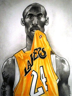 kobe Bryant Chewing On Jersey ( Art ) #blackmamba #lakers #24 New Hip Hop Beats Uploaded EVERY SINGLE DAY http://www.kidDyno.com