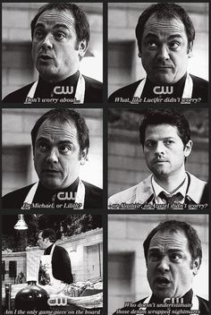Crowley knows what's up.
