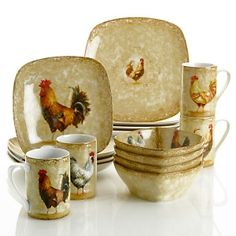 country rustic rooster decor - Bing Images