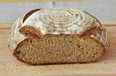 Albahaca y Canela - Pan sin amasado con espelta y semillas