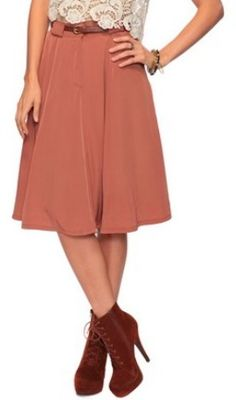 So chic! So Prim. A-line skirt from Forever 21, $23