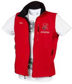 1fe05ea41d6 Custom Softshell Vest Softshell, Adidas Jacket, School Outfits, School  Clothing, High School