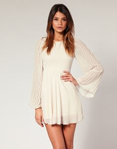 ASOS dress with flute sleeves $72.40