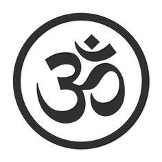 Aum Om Simbolo Symbol Yoga Namaste Peace Gray 19 555px.png