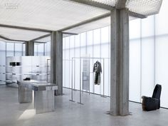 Sophie Hicks's Strikingly Minimalistic ACNE Boutique in Seoul is Far from Gangnam Style
