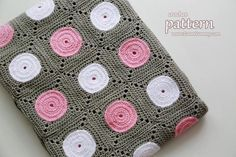 Crochet Polka Dot ... by Zoom Yummy | Crocheting Pattern - Looking for your next project? You're going to love Crochet Polka Dot Blanket 061 by designer Zoom Yummy. - via @Craftsy