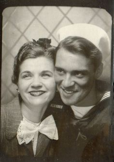 Another handsome sailor -this one looks a bit like Jim Carrey!