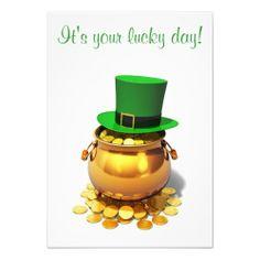 St Patricks Day Party Invitations | WebNuggetz.com