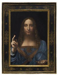Leonardo da Vinci, Salvator Mundi, subastado en Christie´s Londres el 15.11.17 por 450 Mo USD